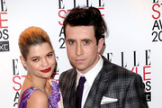 Pixie Geldof (L) and Nick Grimshaw attend the 2011 ELLE Style Awards at the Grand Connaught Rooms on February 14, 2011 in London, England.