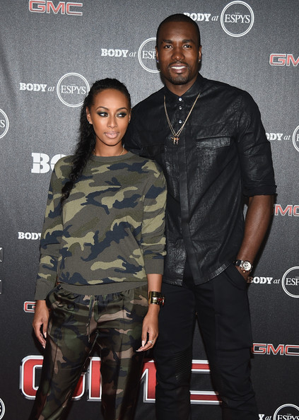 serge ibaka in arrivals at espns body at espys preparty