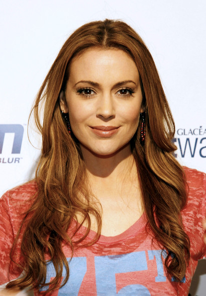 Actress Alyssa Milano attends ESPN the Magazine's 7th Annual Pre-Draft Party at Espace on April 21, 2010 in New York City.