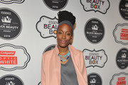 Franchesca Ramsey attends the ESSENCE Best In Black Beauty Awards Carnival on April 21, 2016 in New York City.