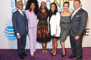 """Rev. Al Sharpton,  MoAna Luu, Susan L. Taylor, Michelle Ebanks, and Marc Morial attend ESSENCE & AT&T """"Humanity Of Connection"""" event at New York Historical Society on June 10, 2019 in New York City."""