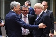 (From L) Belgium's Foreign Minister Didier Reynders, Czech Republic's Foreign Minister Lubomir Zaoralek and British foreign minister Boris Johnson attend an EU foreign ministers meeting at the European Council, in Brussels, on January 16, 2017..British foreign minister Boris Johnson said on January 16, 2017 the Iran nuclear accord that US President-elect Donald Trump has threatened to tear up must be maintained.. / AFP / EMMANUEL DUNAND