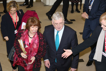 Eamon Gilmore Informal Meeting Of EU Foreign Ministers In Dublin