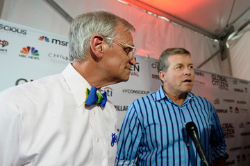 Earl Blumenauer 2014 Global Citizen Festival In Central Park To End Extreme Poverty By 2030 - VIP Lounge