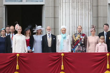 Earl Of Wessex Lady Gabriella Windsor Queen Elizabeth II's Birthday Parade: Trooping The Colour