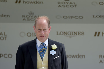 Earl of Wessex 2021 Royal Ascot - Day Two