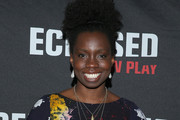 """Actress Adepero Oduye attends the """"Eclipsed"""" broadway opening night at The Golden Theatre on March 6, 2016 in New York City."""