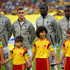 Blaise Matuidi Photos - (L-R) Morgan Schneiderlin, Antoine Griezmann, Mamadou Sakho and Blaise Matuidi of France look on during the National Anthem prior to the 2014 FIFA World Cup Brazil Group E match between Ecuador and France at Maracana on June 25, 2014 in Rio de Janeiro, Brazil. - Ecuador v France: Group E