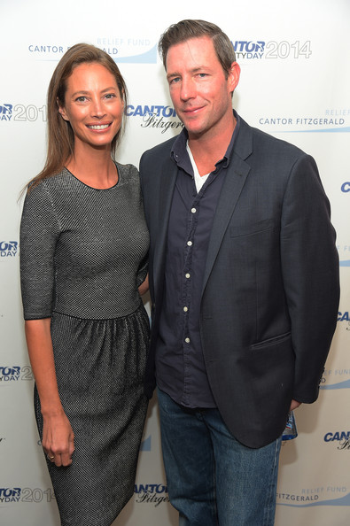 Annual Charity Day Hosted By Cantor Fitzgerald And BGC - Cantor Fitzgerald Office - Inside [event,premiere,white-collar worker,suit,cantor fitzgerald,bgc,office - inside,new york city,charity day,annual charity day,ed burns,christy turlington burns]