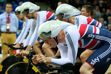 Ed Clancy UCI Track Cycling World Championships - Day One