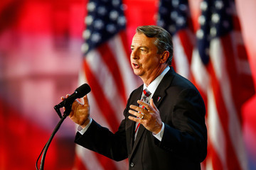Ed Gillespie Republican Presidential Candidate Mitt Romney Holds Election Night Gathering In Boston
