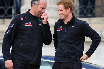 Ed Parker Prince Harry Departs for the South Pole