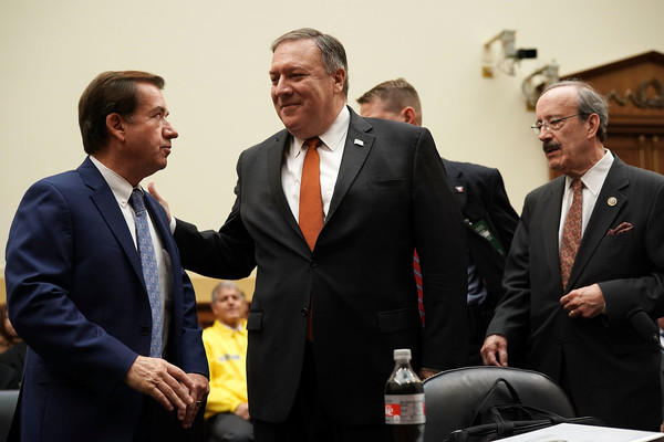Secretary Of State Pompeo Testifies Before House Foreign Affairs Committee