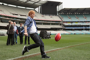 Ed Sheeran AFL Grand Final Entertainment Media Opportunity