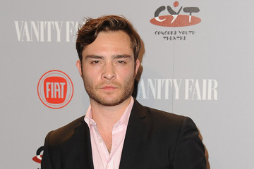 Ed Westwick Vanity Fair Campaign Hollywood Young Hollywood Party