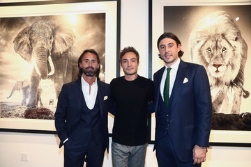Ed Westwick Grand Opening Maddox Gallery Los Angeles