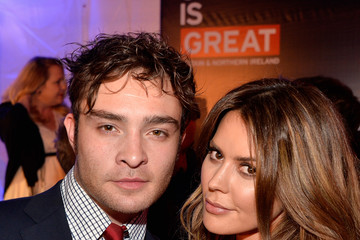Ed Westwick 2014 GREAT British Oscar Reception - Inside
