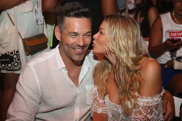 Eddie Cibrian Front Row at Luli Fama