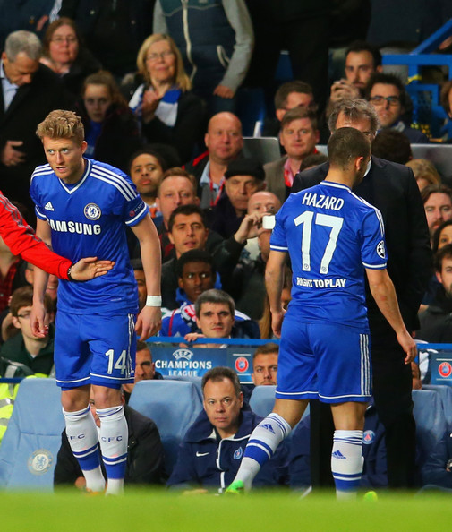 Photos Chelsea Vs Paris Saint Germain: Eden Hazard And Andre Schurrle Photos Photos