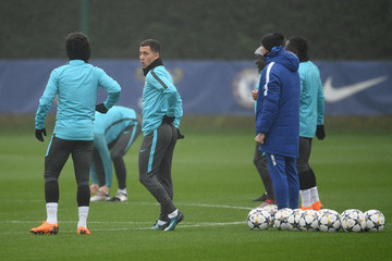 Eden Hazard Chelsea Training Session