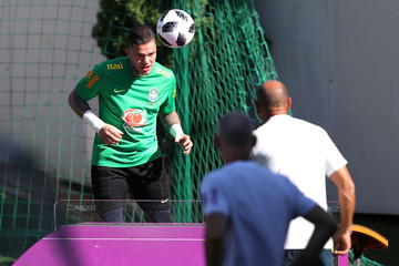 Ederson Brazil Training And Press Conference