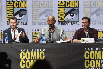 Edgar Ramirez Comic-Con International 2017 - Netflix Films: 'Bright' And 'Death Note' Panel