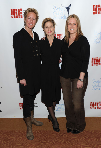 Edie Falco and Linda Wallem 2011