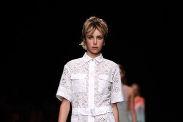 Edie Campbell Valentino Runway Show