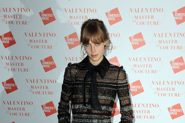 Edie Campbell Valentino: Master Of Couture: VIP View - Arrivals