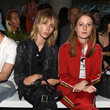 Edie Campbell Front Row & Arrivals: Day 2 - LFWM June 2017