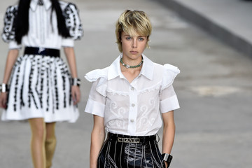 Edie Campbell Chanel Runway Show