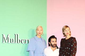 Edie Campbell Mulberry A/W 18 Event - Seoul