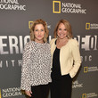 Edie Falco National Geographic's 'America Inside Out With Katie Couric' Premiere Screening In NYC