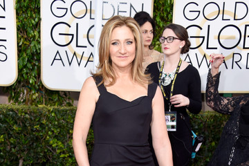 Edie Falco Arrivals at the Golden Globe Awards — Part 2