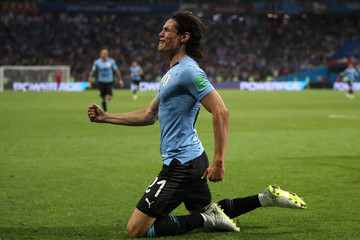 Edinson Cavani Uruguay v Portugal: Round of 16 - 2018 FIFA World Cup Russia
