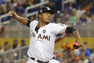 Edinson Volquez New York Mets v Miami Marlins