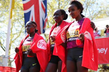 Edna Kiplagat Virgin Money London Marathon