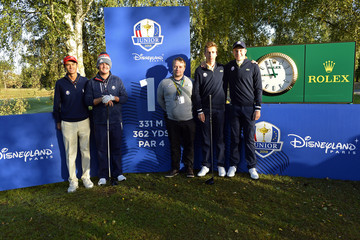 Eduard Rousaud Sabate 2018 Junior Ryder Cup - Day One