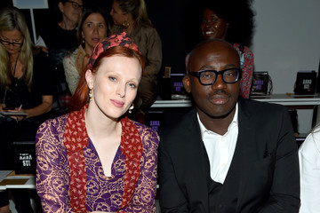 Edward Enninful Anna Sui - Front Row - September 2019 - New York Fashion Week: The Shows