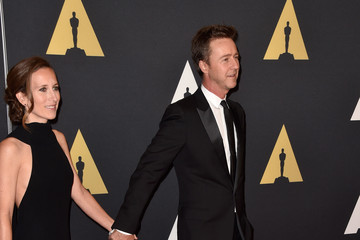Edward Norton Academy Of Motion Picture Arts And Sciences' 2014 Governors Awards - Arrivals