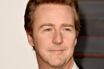 Edward Norton Arrivals at the Elton John AIDS Foundation Oscars Viewing Party — Part 5