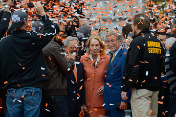 Edwin Lee San Francisco Giants Victory Parade
