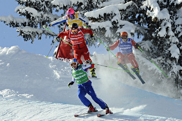 Egor Korotkov Men and Women's Freestyle Ski Cross - FIS World Cup