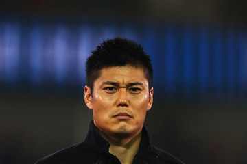 Eiji Kawashima Belgium v Japan - International Friendly