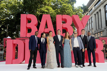 Eiza Gonzalez Ansel Elgort European Premiere of Sony Pictures 'Baby Driver'