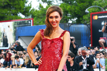 Ekaterina Mtsitouridze Award Ceremony Arrivals - 74th Venice Film Festival