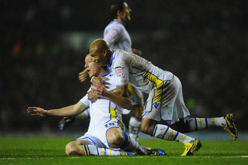 El Hadji Diouf Luciano Becchio Leeds United v Chelsea - Capital One Cup Quarter-Final