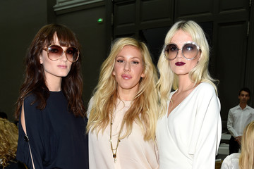 Elektra Kilbey Chloe : Front Row - Paris Fashion Week Womenswear Spring/Summer 2015