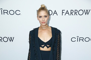 Elena Perminova Linda Farrow Paris Fashion Week Dinner And After Party