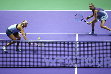 Elena Vesnina BNP Paribas WTA Finals Singapore Presented by SC Global - Day 7